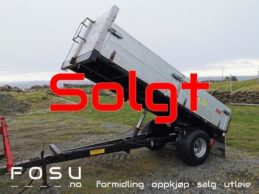 Tume 3035 trailer for tractor sold