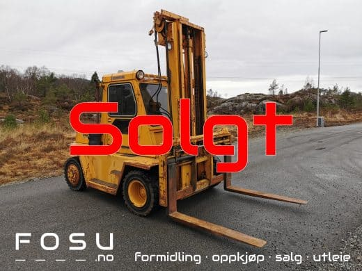 Caterpillar V140 forklift sold by FOSU AS