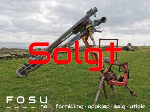 Gjødselpumpe sold by FOSU in Skudeneshavn