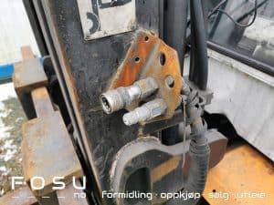 Extra hydraulic Kalmar forklift
