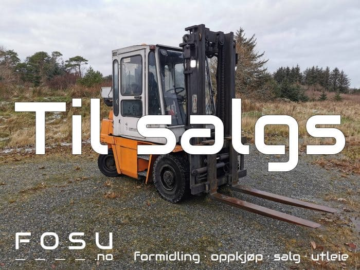 Kalmar gaffeltruck til salgs