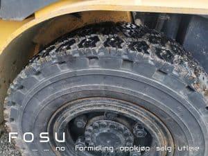Caterpillar gaffeltruck hjul