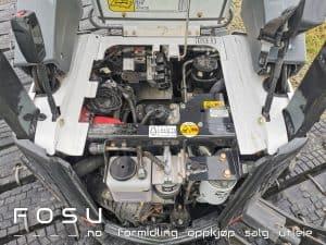 Motor Bobcat minigraver