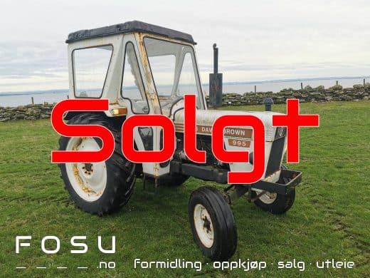David Brown traktor solgt