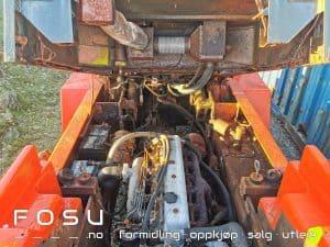 Motor Toyota FD50 gaffeltruck