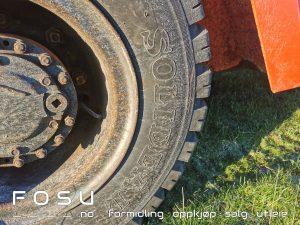 Dekk Toyota FD50 gaffeltruck