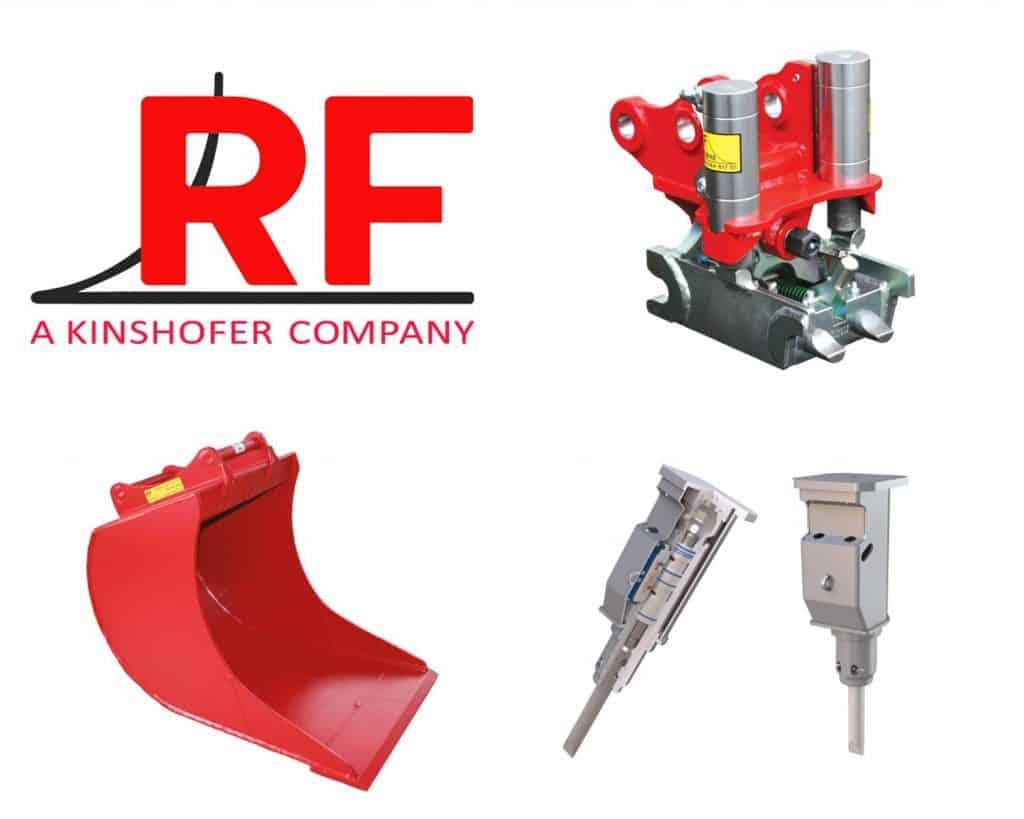 Forhandler RF-System AB, graveskuff og pigghammer