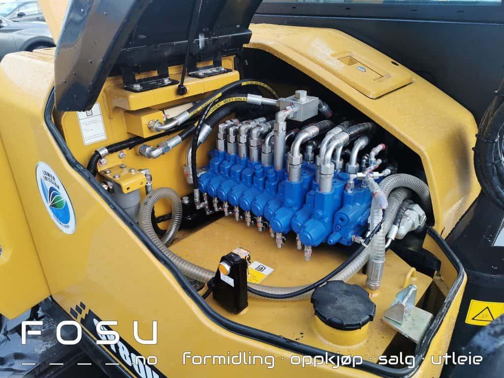 Sany SY80U hydraulikk sentral, lett tilkomst for arbeid på gravemaskin
